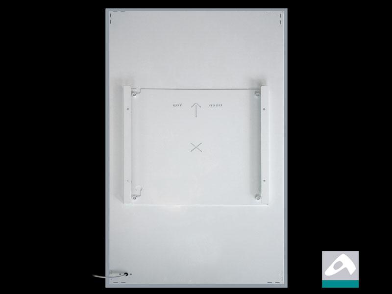 Montageplatte für infranomic slim-line Infrarotheizungen Rahmenlos