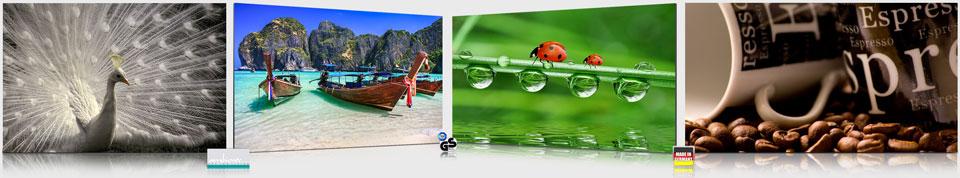 Bildheizung Rahmenlos slim-line 500 Watt 90x60 Rahmenlos slim-line