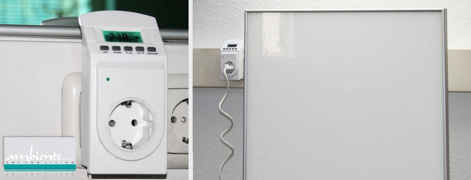 Thermostate und Zubehör: Steckdosen Thermostat Thermo Timer